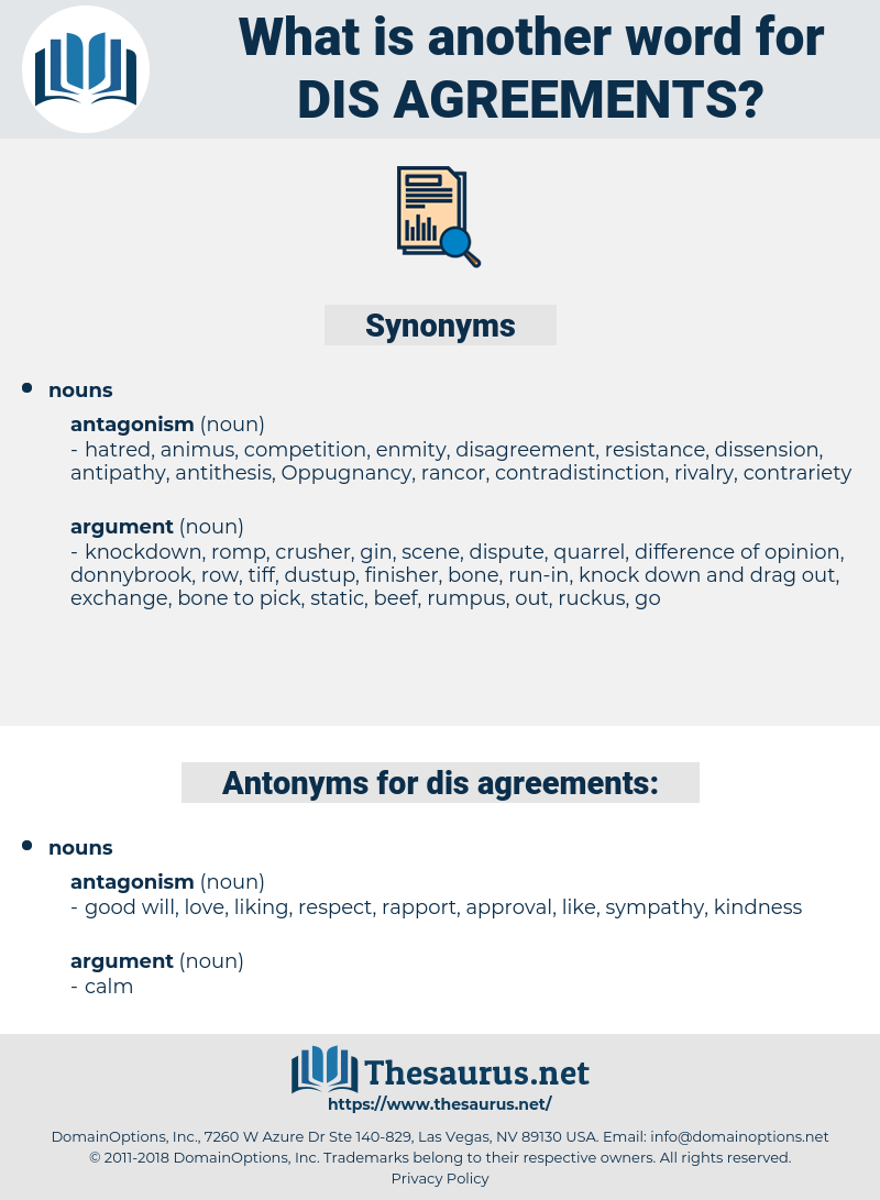 dis-agreements, synonym dis-agreements, another word for dis-agreements, words like dis-agreements, thesaurus dis-agreements