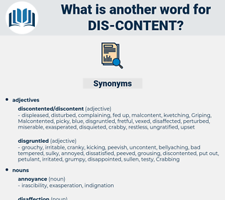 dis-content, synonym dis-content, another word for dis-content, words like dis-content, thesaurus dis-content