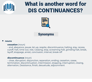 dis-continuances, synonym dis-continuances, another word for dis-continuances, words like dis-continuances, thesaurus dis-continuances