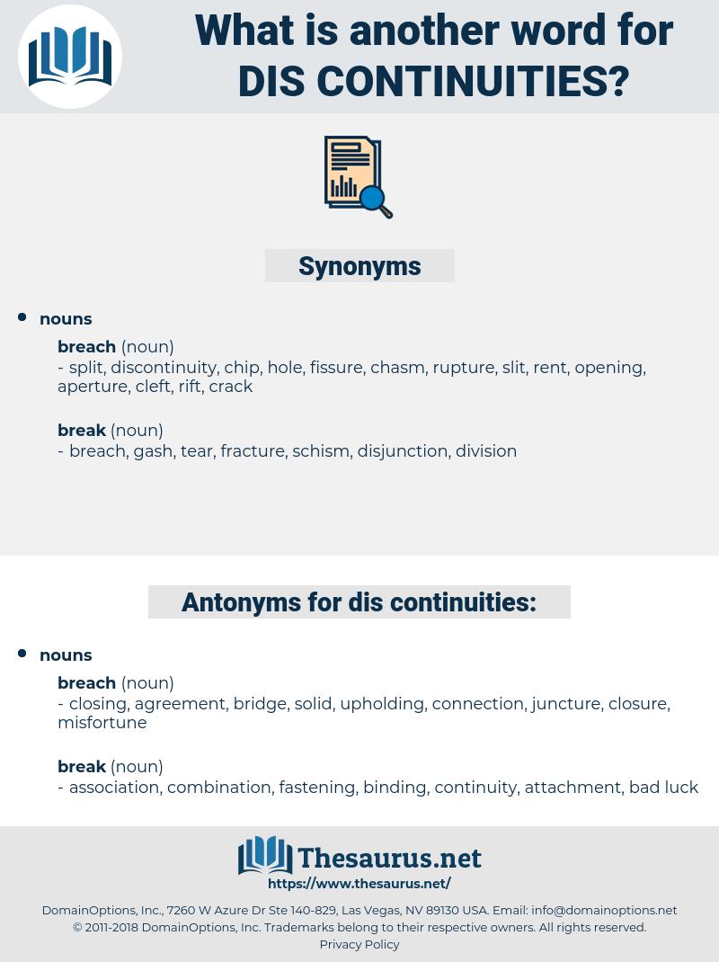 dis continuities, synonym dis continuities, another word for dis continuities, words like dis continuities, thesaurus dis continuities