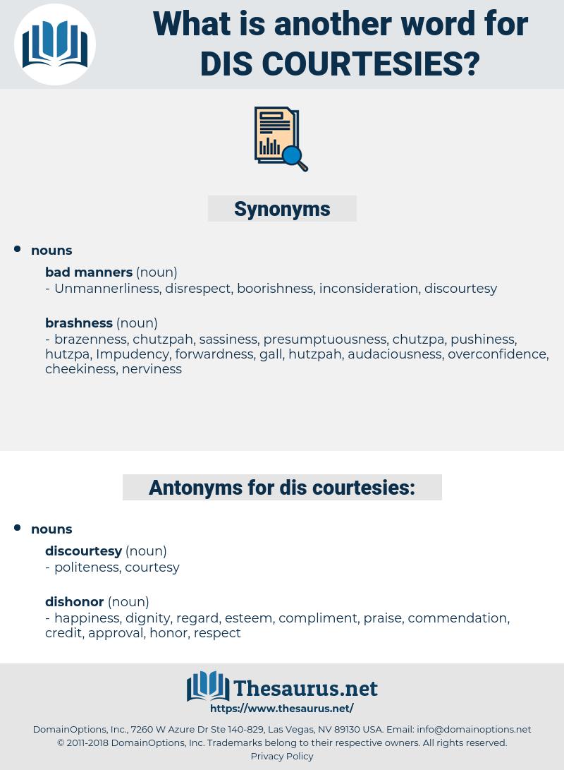 dis courtesies, synonym dis courtesies, another word for dis courtesies, words like dis courtesies, thesaurus dis courtesies