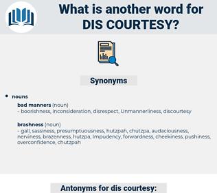 dis-courtesy, synonym dis-courtesy, another word for dis-courtesy, words like dis-courtesy, thesaurus dis-courtesy