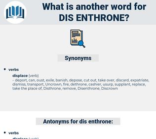 dis enthrone, synonym dis enthrone, another word for dis enthrone, words like dis enthrone, thesaurus dis enthrone