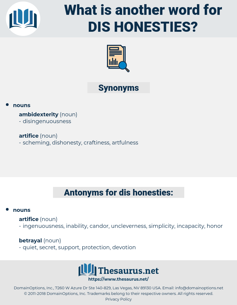 dis honesties, synonym dis honesties, another word for dis honesties, words like dis honesties, thesaurus dis honesties