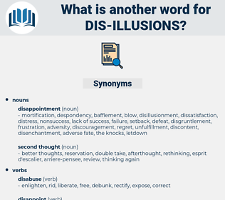 dis-illusions, synonym dis-illusions, another word for dis-illusions, words like dis-illusions, thesaurus dis-illusions