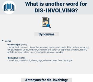 dis involving, synonym dis involving, another word for dis involving, words like dis involving, thesaurus dis involving