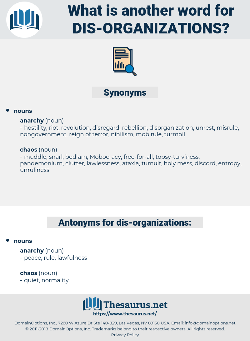 dis-organizations, synonym dis-organizations, another word for dis-organizations, words like dis-organizations, thesaurus dis-organizations