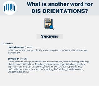 dis orientations, synonym dis orientations, another word for dis orientations, words like dis orientations, thesaurus dis orientations