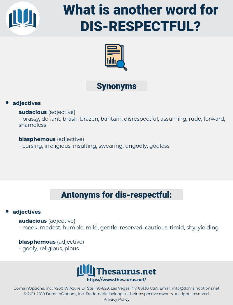 dis respectful, synonym dis respectful, another word for dis respectful, words like dis respectful, thesaurus dis respectful