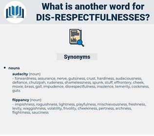 dis respectfulnesses, synonym dis respectfulnesses, another word for dis respectfulnesses, words like dis respectfulnesses, thesaurus dis respectfulnesses