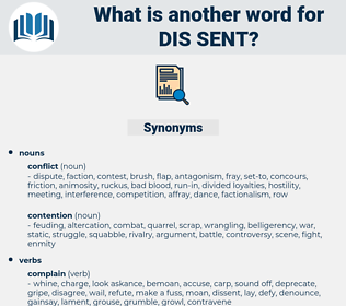 dis-sent, synonym dis-sent, another word for dis-sent, words like dis-sent, thesaurus dis-sent