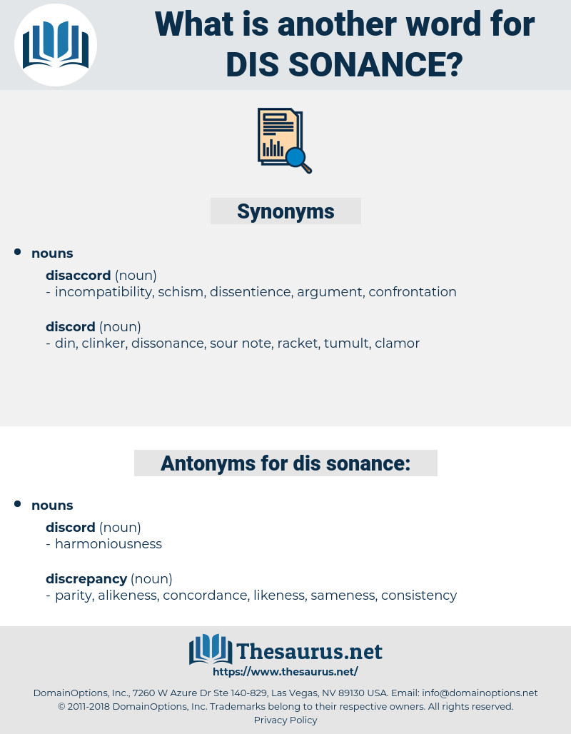 dis sonance, synonym dis sonance, another word for dis sonance, words like dis sonance, thesaurus dis sonance