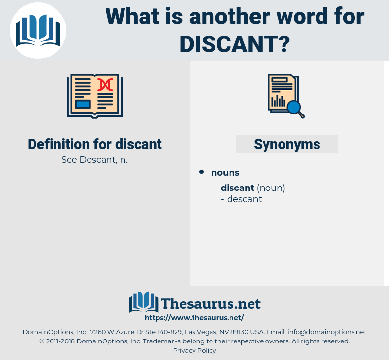 discant, synonym discant, another word for discant, words like discant, thesaurus discant