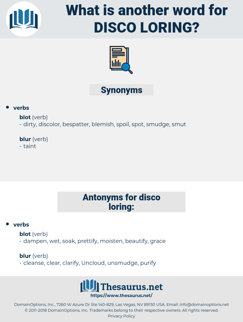disco loring, synonym disco loring, another word for disco loring, words like disco loring, thesaurus disco loring