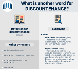 discountenance, synonym discountenance, another word for discountenance, words like discountenance, thesaurus discountenance