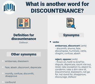 discountenance, synonym discountenance, another word for discountenance, words like discountenance, thesaurus discountenance