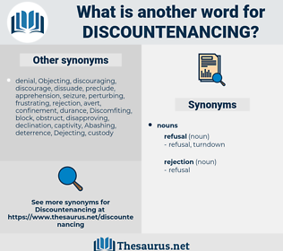 Discountenancing, synonym Discountenancing, another word for Discountenancing, words like Discountenancing, thesaurus Discountenancing