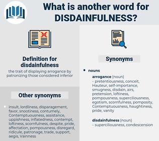 disdainfulness, synonym disdainfulness, another word for disdainfulness, words like disdainfulness, thesaurus disdainfulness