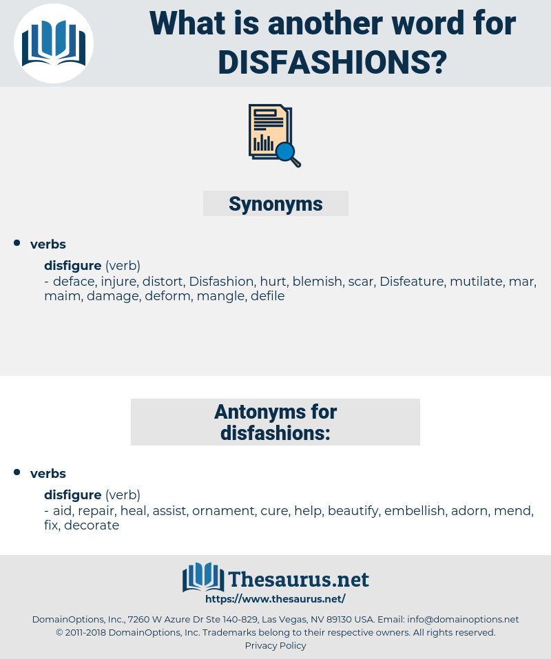 disfashions, synonym disfashions, another word for disfashions, words like disfashions, thesaurus disfashions