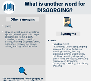Disgorging, synonym Disgorging, another word for Disgorging, words like Disgorging, thesaurus Disgorging