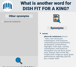 dish fit for a king, synonym dish fit for a king, another word for dish fit for a king, words like dish fit for a king, thesaurus dish fit for a king