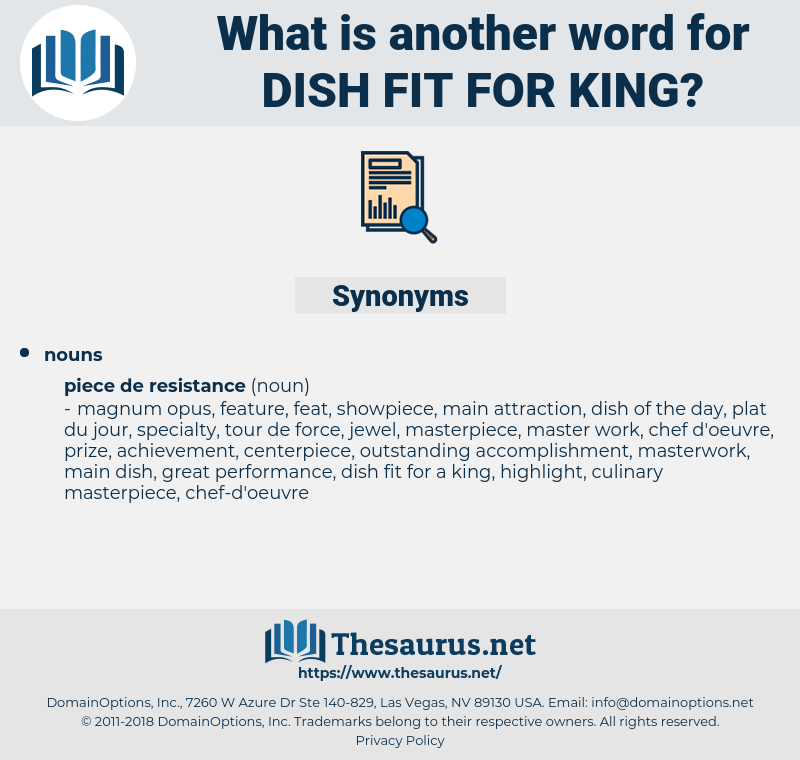 dish fit for king, synonym dish fit for king, another word for dish fit for king, words like dish fit for king, thesaurus dish fit for king