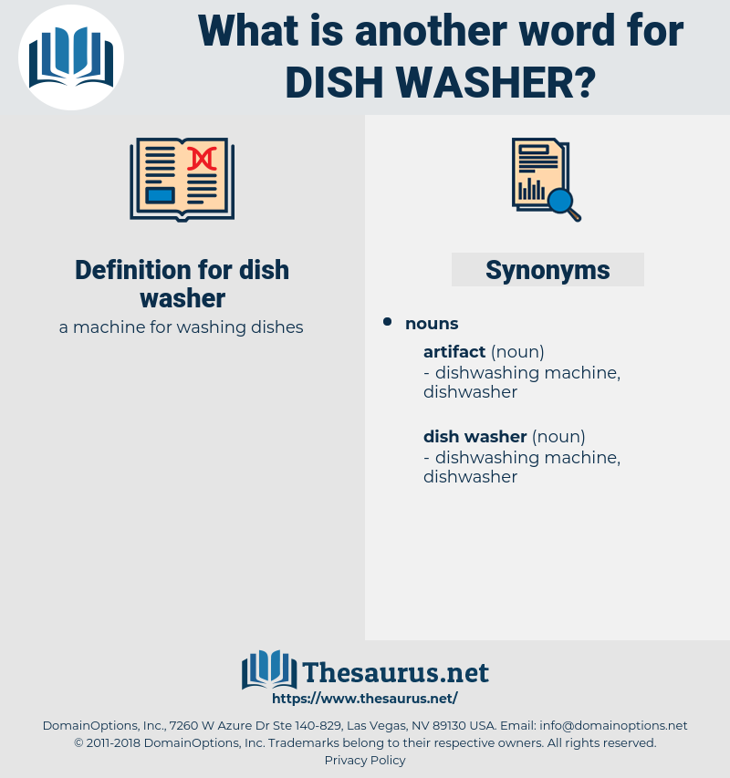 dish washer, synonym dish washer, another word for dish washer, words like dish washer, thesaurus dish washer