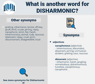 disharmonic, synonym disharmonic, another word for disharmonic, words like disharmonic, thesaurus disharmonic
