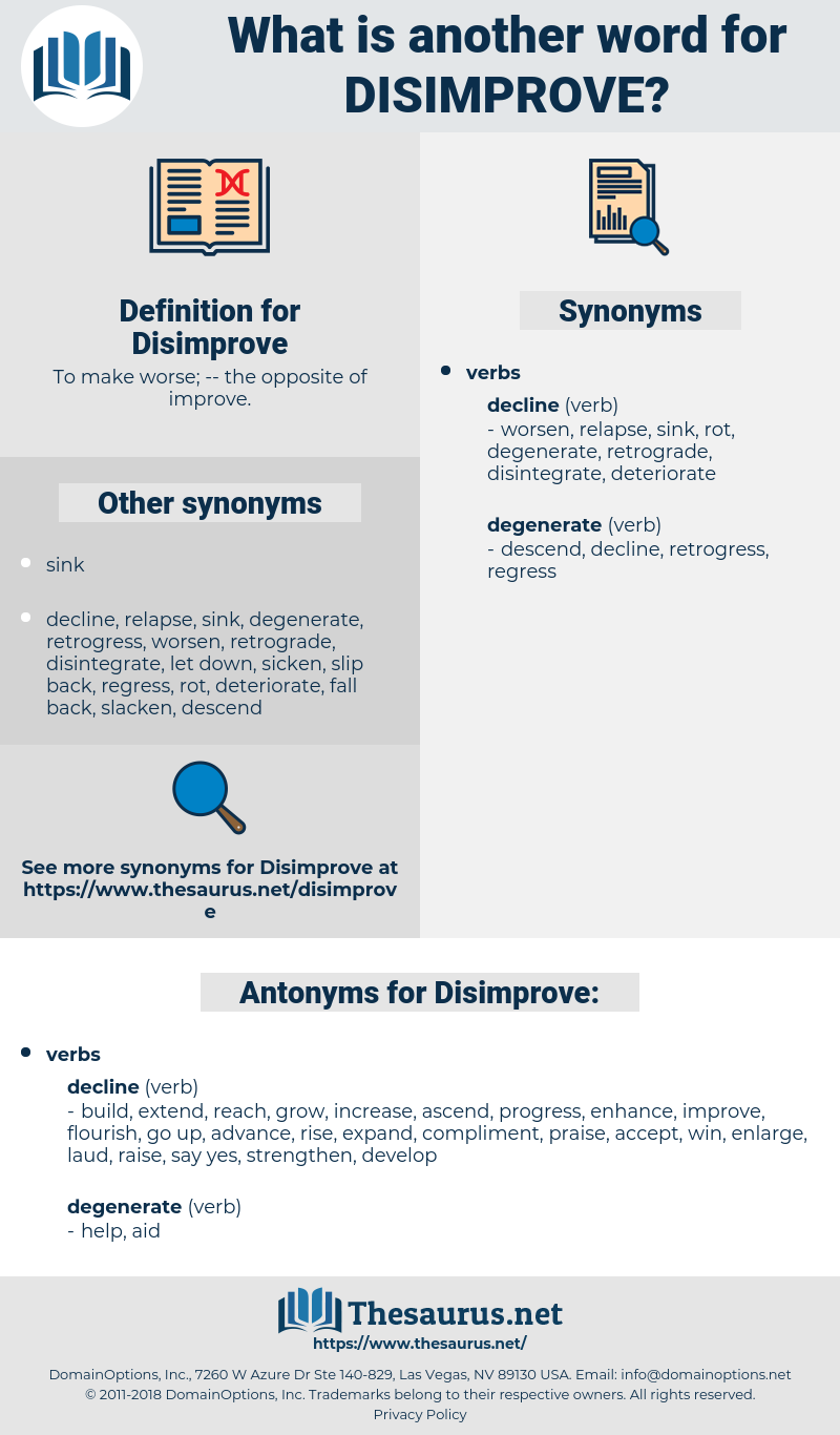 Disimprove, synonym Disimprove, another word for Disimprove, words like Disimprove, thesaurus Disimprove