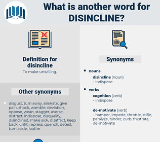 disincline, synonym disincline, another word for disincline, words like disincline, thesaurus disincline
