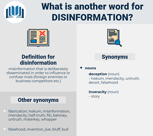 disinformation, synonym disinformation, another word for disinformation, words like disinformation, thesaurus disinformation
