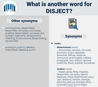 disject, synonym disject, another word for disject, words like disject, thesaurus disject