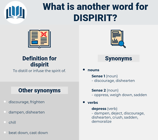dispirit, synonym dispirit, another word for dispirit, words like dispirit, thesaurus dispirit