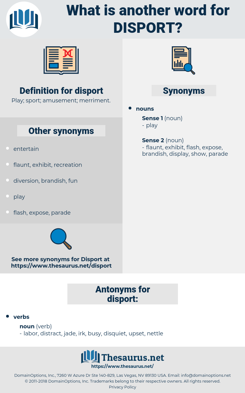 disport, synonym disport, another word for disport, words like disport, thesaurus disport