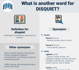 disquiet, synonym disquiet, another word for disquiet, words like disquiet, thesaurus disquiet