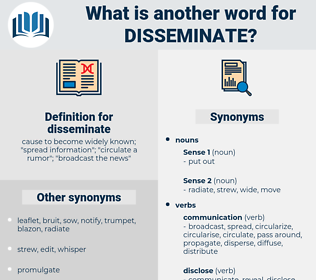 disseminate, synonym disseminate, another word for disseminate, words like disseminate, thesaurus disseminate