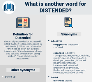 Distended, synonym Distended, another word for Distended, words like Distended, thesaurus Distended