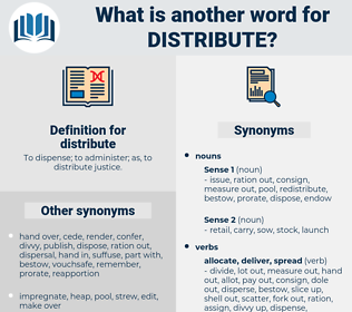 distribute, synonym distribute, another word for distribute, words like distribute, thesaurus distribute