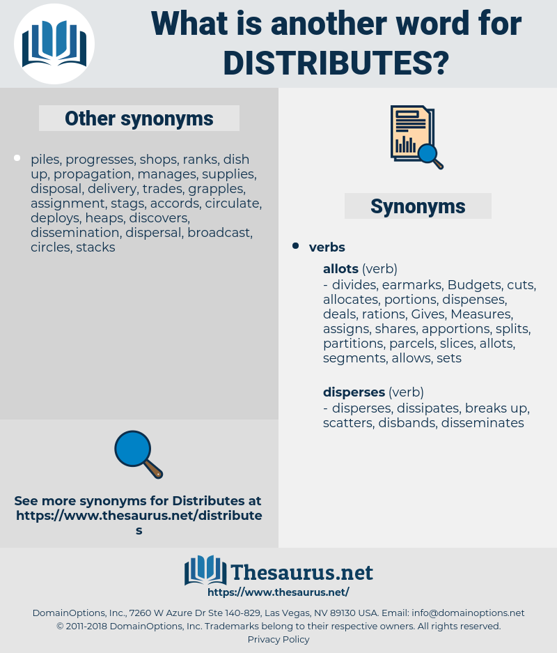 distributes, synonym distributes, another word for distributes, words like distributes, thesaurus distributes