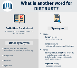 distrust, synonym distrust, another word for distrust, words like distrust, thesaurus distrust