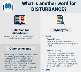 disturbance, synonym disturbance, another word for disturbance, words like disturbance, thesaurus disturbance