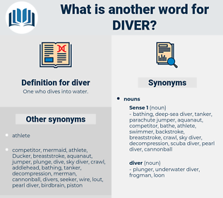 diver, synonym diver, another word for diver, words like diver, thesaurus diver