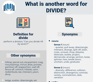 divide, synonym divide, another word for divide, words like divide, thesaurus divide