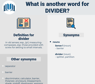 divider, synonym divider, another word for divider, words like divider, thesaurus divider