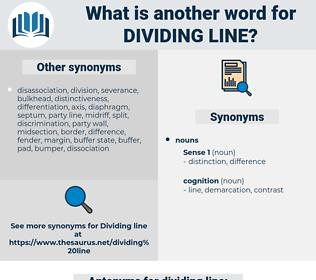 dividing line, synonym dividing line, another word for dividing line, words like dividing line, thesaurus dividing line