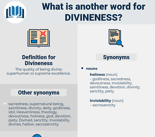 Divineness, synonym Divineness, another word for Divineness, words like Divineness, thesaurus Divineness