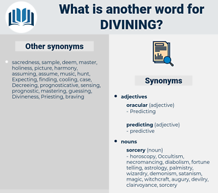 Divining, synonym Divining, another word for Divining, words like Divining, thesaurus Divining