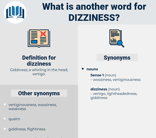 dizziness, synonym dizziness, another word for dizziness, words like dizziness, thesaurus dizziness
