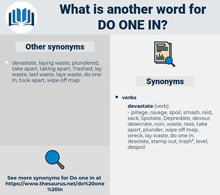 do one in, synonym do one in, another word for do one in, words like do one in, thesaurus do one in