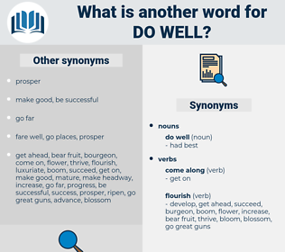 do well, synonym do well, another word for do well, words like do well, thesaurus do well